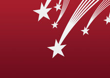 Star red background Royalty Free Stock Photos