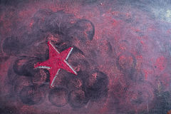 Star red christmas Royalty Free Stock Photography