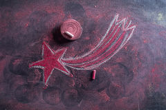 Star red christmas Royalty Free Stock Images