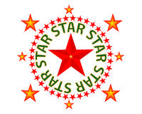 Star red Stock Photography