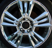 Star Rim. A rim from a bmw Royalty Free Stock Photography