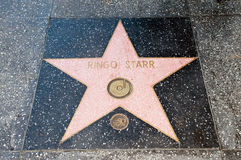 The  star of  Ringo Starr Stock Photo