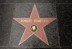 The star of Robert Zemeckis Royalty Free Stock Photos