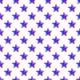 Star seamless pattern background. Vector illustration of star seamless pattern background Stock Photo
