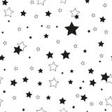 Star seamless pattern. Cute kids star seamless pattern. Seamless patter with stars. Star background. Babies fashion. Vector illustration, eps 10 vector illustration
