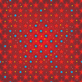 Star seamless pattern Royalty Free Stock Photography