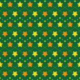 Star seamless texture. Bright Star elegant repeating pattern for baby clothes. Fabric, material, textile, seamless texture Stock Photography