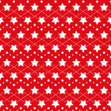 Star seamless texture Royalty Free Stock Photography