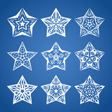 Star set Royalty Free Stock Images