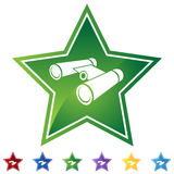 Star Set - Binoculars Stock Photo