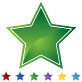 Star Set - Blank Royalty Free Stock Images