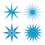 Star set collection Royalty Free Stock Images