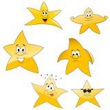 Star set Royalty Free Stock Photos