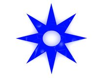 Star shape Stock Image
