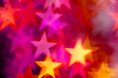 Star shape as background Royalty Free Stock Photos