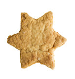 Star shape christmas gingerbread Royalty Free Stock Images