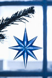 Star Shape Christmas Ornament Royalty Free Stock Images