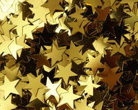 Star Shape Confetti Royalty Free Stock Images
