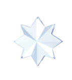Star shape decoration Royalty Free Stock Image