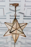 Star shape lantern Stock Photos