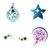 Star Shape Set Royalty Free Stock Image