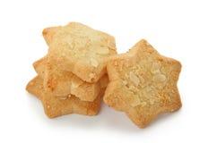 Star shape spice-cakes. Isolated on white background Stock Image