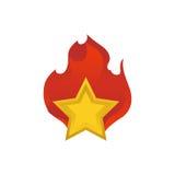 Star shape symbol Stock Photography