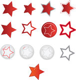 Star shape Royalty Free Stock Photo