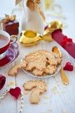 Star-shaped печенья для рождества стоковая фотография rf