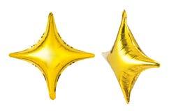 star shaped balloon Royalty Free Stock Photo