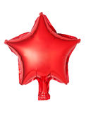 star shaped balloon Stock Image