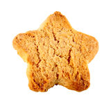 Star shaped biscuit Royalty Free Stock Photo