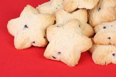 Star Shaped Biscuits Stock Photography