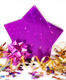 Star shaped box Stock Image