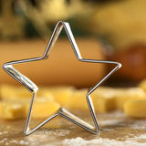 Star-Shaped Cookie Cutter Stock Photography
