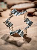Star-shaped cookie cutter stock images