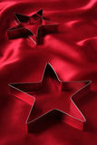 Star Shaped Cookie Cutters Stock Image