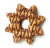 Star shaped cookie stock photos