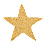Star-shaped cookie Royalty Free Stock Photo