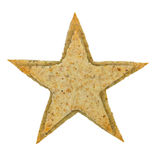 Star shaped cookie Stock Photography