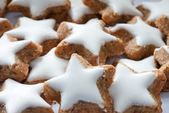 Star-shaped cookies Royalty Free Stock Image