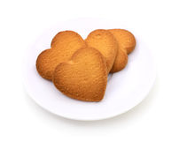 Star shaped cookies. Stock Photography