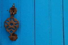 Star-shaped door caller Royalty Free Stock Photography