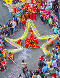 Star-shaped dragons Lantern Festival Royalty Free Stock Image