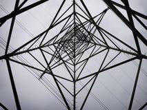 Star shaped electricity pylon