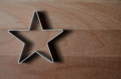 Star shaped food ring mold Stock Photography