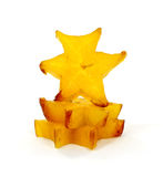Star Shaped Fruit Slice Stack Royalty Free Stock Photo