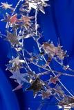 Star shaped garland Royalty Free Stock Image