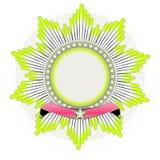 Star shaped Insignia Royalty Free Stock Photo
