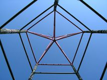 Star Shaped Structure Stock Images